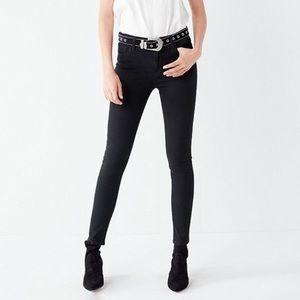 BDG Black Skinny Jeans.   Size 25